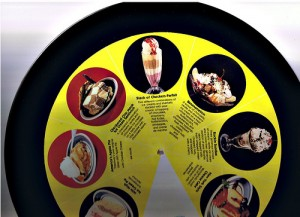 Checkers Dessert Menu on Vinyl 3 by FredMikeRuby via Flickr