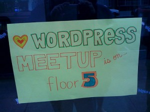 Wordpress Meetup by David Recordon via Flickr