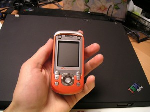 new cell phone by grafitti with numbers via Flickr