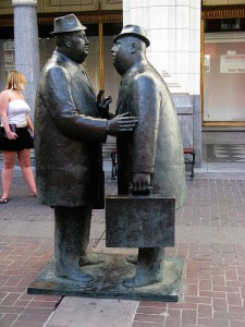 The Conversation by Danielle Scott via Flickr